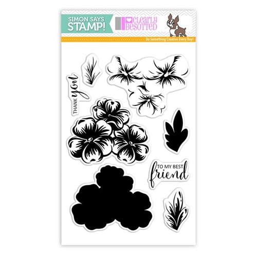 Clearly Besotted MY BEST FRIEND Clear Stamps SSS101780 Stamptember Exclusive Preview Image