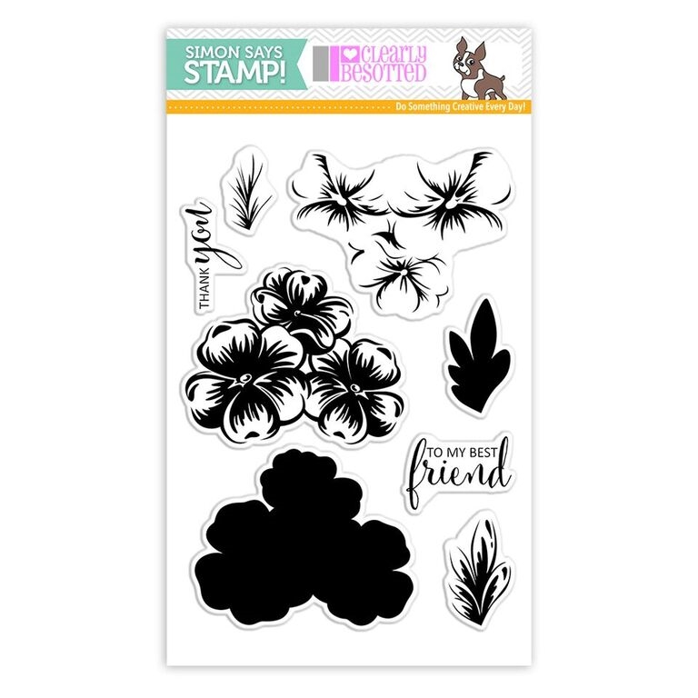 Clearly Besotted MY BEST FRIEND Clear Stamps SSS101780 Stamptember Exclusive zoom image