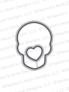 Newton's Nook Designs BEAUTIFUL BONES DIE Set NN1709D01