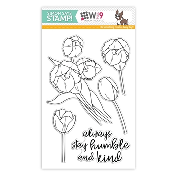 WPlus9 HUMBLE AND KIND Clear Stamps SSS101773 Stamptember Exclusive