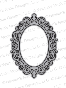 Newton's Nook Designs CAMEO FRAME DIE NN1709D06 Preview Image