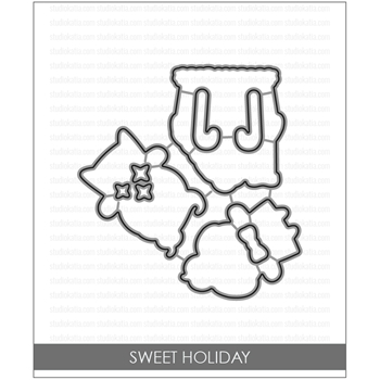 Studio Katia SWEET HOLIDAY Coordinating Dies STK039
