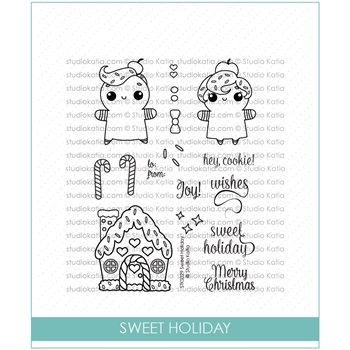 Studio Katia SWEET HOLIDAY Clear Stamps STKS029
