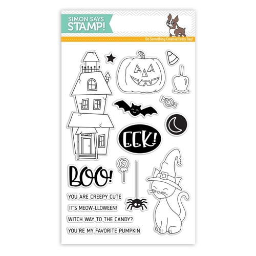Simon Says Clear Stamps CREEPY CUTE SSS101783 Preview Image
