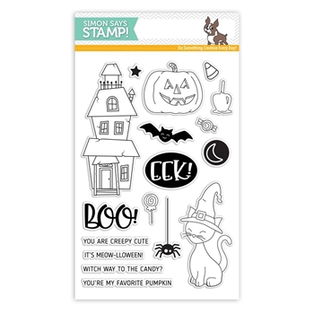 Simon Says Clear Stamps CREEPY CUTE