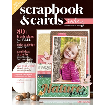 Scrapbook & Cards Today Magazine FALL 2017 Issue 74470