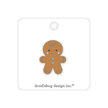 Doodlebug GINGERBREAD MAN Enamel Collectible Pin 5772