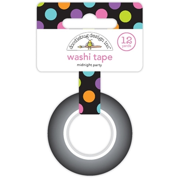 Doodlebug MIDNIGHT PARTY Washi Tape BooVille 5740