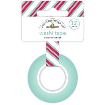Doodlebug PEPPERMINT TWIST Washi Tape 5745