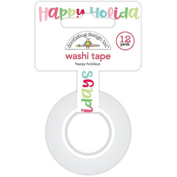 Doodlebug HAPPY HOLIDAYS Washi Tape 5744