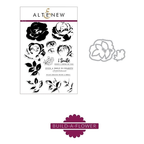 Altenew BUILD A FLOWER ROSE Clear Stamp ALT5212 Preview Image