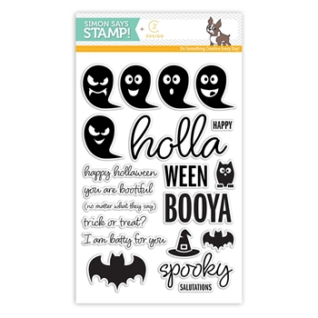 CZ Design Clear Stamps HOLLAWEEN CZ10