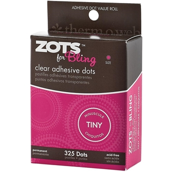 Therm O Web BLING Zots Clear Adhesive Dots 3770