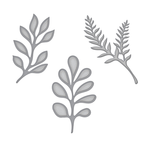 S3-303 Spellbinders LITTLE PLANTS Etched Dies  Preview Image