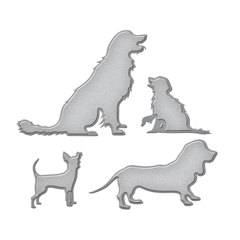 S3-299 Spellbinders DOG CLUB Etched Dies