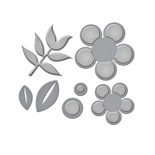 S3-297 Spellbinders DAISY 2 Etched Dies  Preview Image