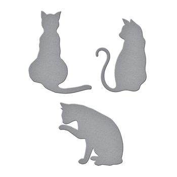 S2-277 Spellbinders KITTY CATS Etched Dies