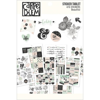 Simple Stories BEAUTIFUL Sticker Tablet 7953