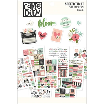Simple Stories BLOOM Sticker Tablet 7960