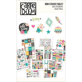 Simple Stories GOOD VIBES Mini Sticker Tablet 7956