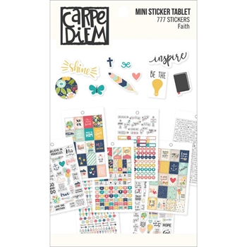 Simple Stories FAITH Mini Sticker Tablet 7994