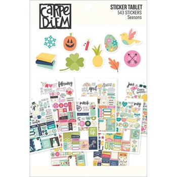 Simple Stories SEASONS Sticker Tablet 7974