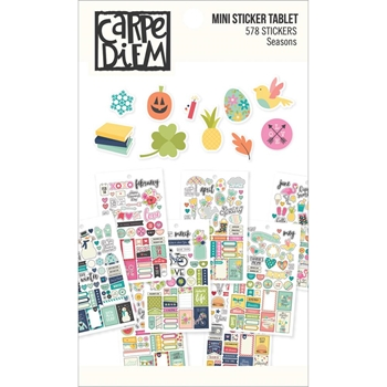 Simple Stories SEASONS Mini Sticker Tablet 7983