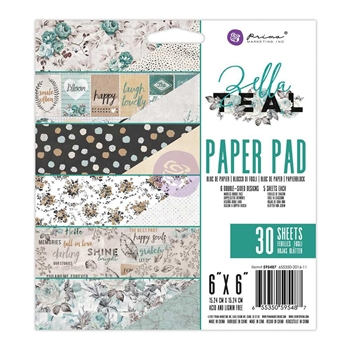 Prima Marketing ZELLA TEAL 6 x 6 Collection Kit 595487