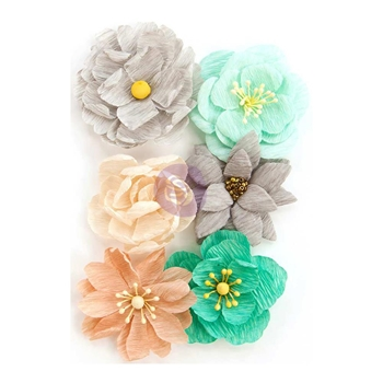 Prima Marketing MADE WITH LOVE Zella Teal Flowers 597177