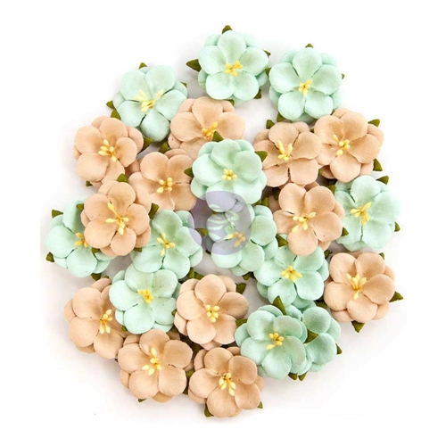 Prima Marketing BLISS DELIGHT Zella Teal Flowers 597184 Preview Image