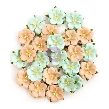 Prima Marketing BLISS DELIGHT Zella Teal Flowers 597184