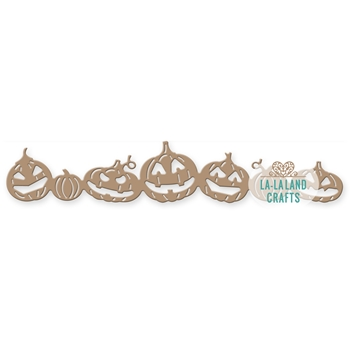 La-La Land Crafts PUMPKINS BORDER 8339