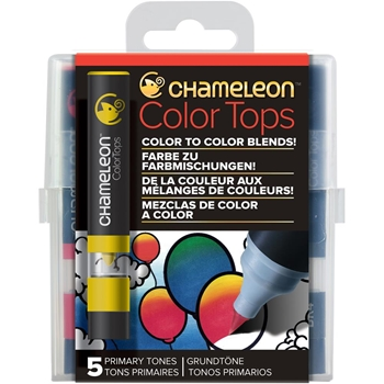 Chameleon PRIMARY TONES Color Tops Marker Set CT4502