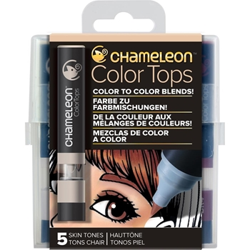 Chameleon SKIN TONES Color Tops Marker Set CT4510