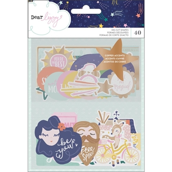 American Crafts Dear Lizzy EPHEMERA Star Gazer 343431