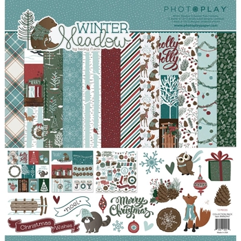 PhotoPlay WINTER MEADOW 12 x 12 Collection Pack WW2947