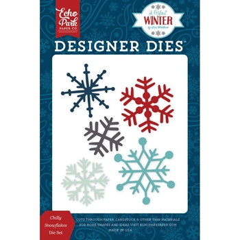 Echo Park CHILLY SNOWFLAKES Die Set APW136041