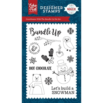 Echo Park BUNDLE UP Clear Stamps APW136044