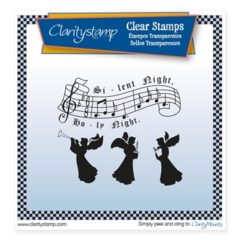 Claritystamp SILENT NIGHT Clear Stamps STACH10431A5