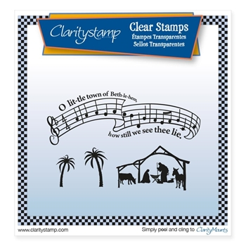 Claritystamp O LITTLE TOWN Clear Stamps STACH10435A5