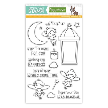 Poppy Stamps MAGICAL WISHES Clear Stamps SSS101772 Stamptember Exclusive