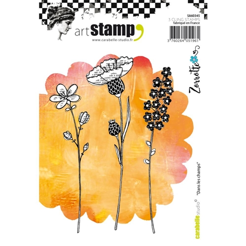 Carabelle Studio DANS LES CHAMPS BY ZORROTTE Cling Stamp SA60345 Preview Image