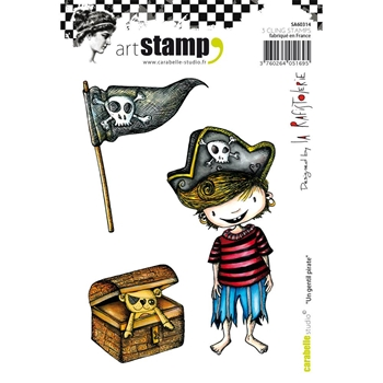 Carabelle Studio UN GENTIL PIRATE Cling Stamp SA60314