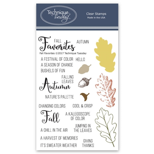 Technique Tuesday FALL FAVORITES Clear Stamps 02565 Preview Image