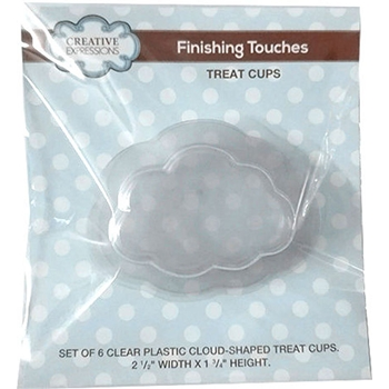 Creative Expressions CLOUD Treat Cup Shaker CETREATCLOUD