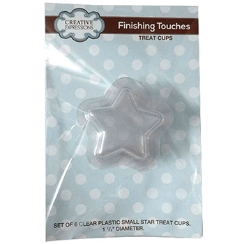 Creative Expressions SMALL STAR Treat Cup Shaker CETREATSMSTAR