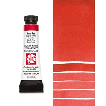 Daniel Smith PYRROL RED 5ML Extra Fine Watercolor 284610084