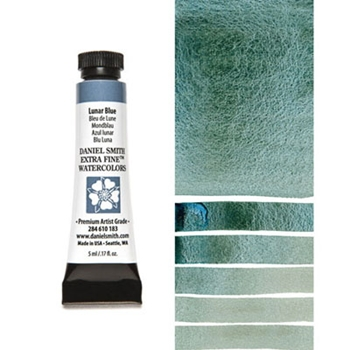 Daniel Smith LUNAR BLUE 5ML Extra Fine Watercolor 284610183
