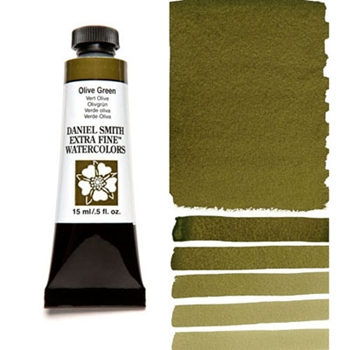 Daniel Smith OLIVE GREEN 15ML Extra Fine Watercolor 284600063