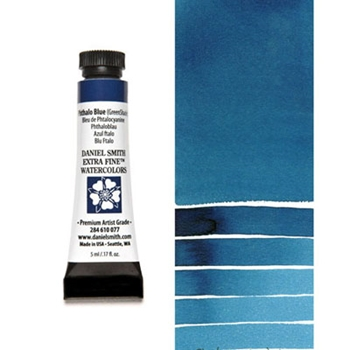 Daniel Smith PHTHALO BLUE GREEN SHADE 5ML Extra Fine Watercolor 284610077